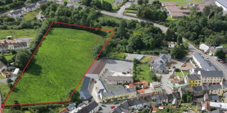 LAND FOR SALE Upper Main Street, Manorhamilton, Co. Leitrim